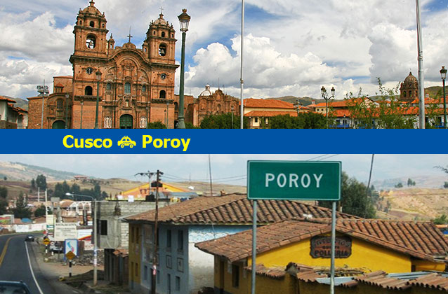 Cusco to Poroy Transportation