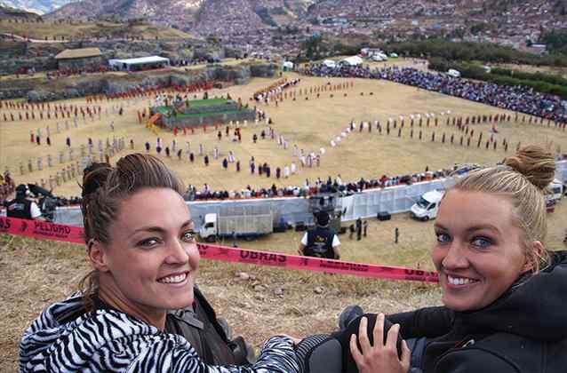 산에서의 레이미 (Inti Raymi)